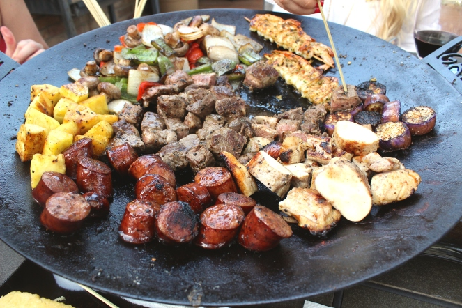 Kabobs on the Twok Grill