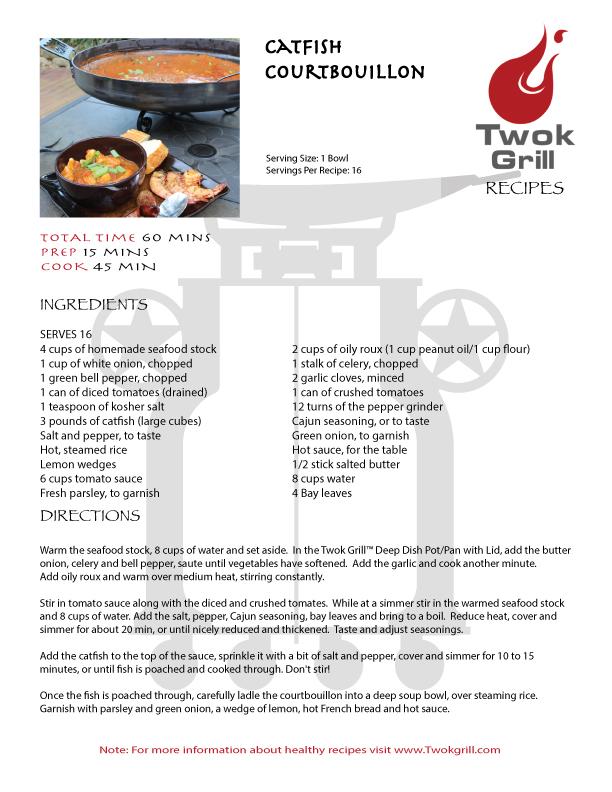 Catfish,Cajun Cooking,Catfish Court-Bouillon,Cowboy wok,Outdoors,Plow disc cooker ,Spring Recipe,Texas Wok,Twok Deep Dish,Twok Grill, cajun cooking, cajun recipes